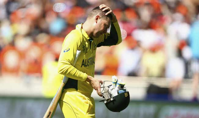 Micheal Clarke OUT! Australia vs Sri Lanka, ICC Cricket World Cup 2015 – Watch Full Video Highlights of the wicket