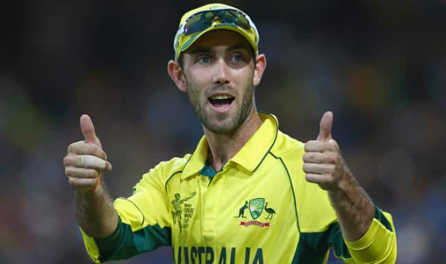 AUS win by 64 runs   Live Cricket Score Australia vs Sri Lanka Ball by Ball Updates, ICC Cricket World Cup 2015 Match 32: Glenn Maxwell adjudged Man of the Match