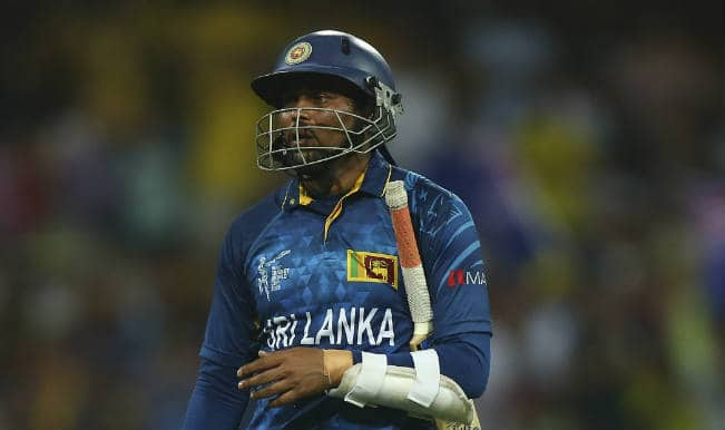 Tillakaratne Dilshan OUT! South Africa vs Sri Lanka, ICC Cricket World Cup 2015 – Watch Full Video Highlights of the wicket