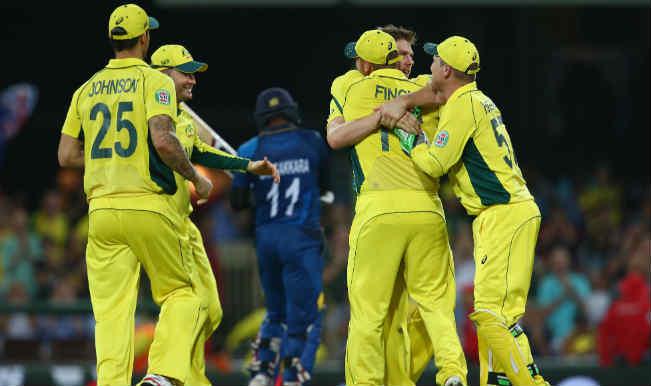 Kumar Sangakkara OUT! Australia vs Sri Lanka, ICC Cricket World Cup 2015 – Watch Full Video Highlights of the wicket