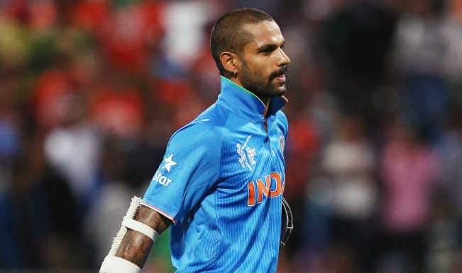 Shikhar Dhawan OUT! India vs Ireland ICC Cricket World Cup 2015 – Watch Full Video Highlights of Fall of Wicket