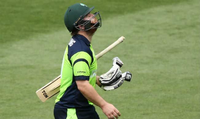 Paul Stirling OUT! Pakistan vs Ireland ICC Cricket World Cup 2015 – Watch Full Video Highlights of Fall of Wicket