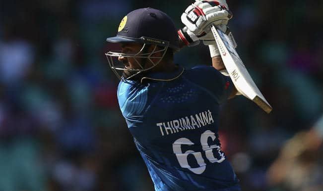 Lahiru Thirimanne OUT! South Africa vs Sri Lanka, ICC Cricket World Cup 2015 – Watch Full Video Highlights of the wicket