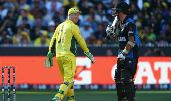 Luke Ronchi booed by MCG crowd in 2015 Cricket World Cup final