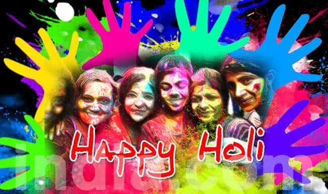 Holi Images & Wallpapers: Colorful pictures & Greetings to wish Happy Holi 2015