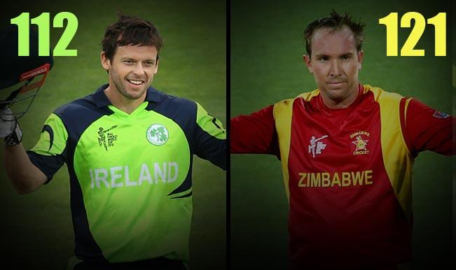 Ireland vs Zimbabwe 2015 Cricket World Cup 2015: Ed Joyce, Brendan Taylor centuries among Top 5 highlights of IRE vs ZIM match