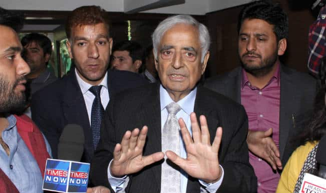 Mufti Mohammad Sayeed begins second innings, receives Guard of Honour