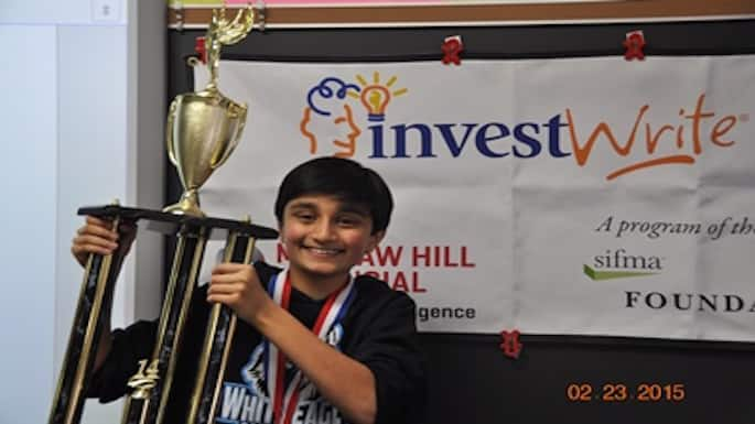 Naperville Fifth-Grader Grabs Second Spot in InvestWrite Test