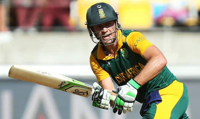 Villiers South Africa  city pictures gallery : New Zealand vs South Africa, ICC Cricket World Cup 2015, 1st Semi ...