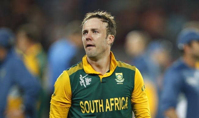 AB de Villiers: No clue of what South Africa Cricket team will do after semi-final exit