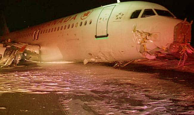 Air Canada AC624 Jet Crash: Airbus 320 flight skids off Halifax runway, at least 23 injured