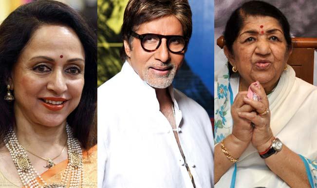 Gudi Padwa 2015 Special: Amitabh Bachchan, Lata Mageshkar, Hema Malini, Sonakshi Sinha celebrate