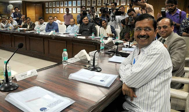 Delhi Budget 2015-16: Arvind Kejriwal-led Aam Aadmi Party government proposes Rs 37,750 crore expenditure