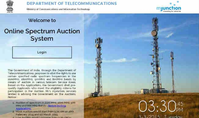 Spectrum bids total Rs.105,000 crore after 17 days of auction