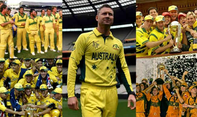 Australia Cricket Team at World Cup finals: Match results of all WC Finals played by Kangaroos