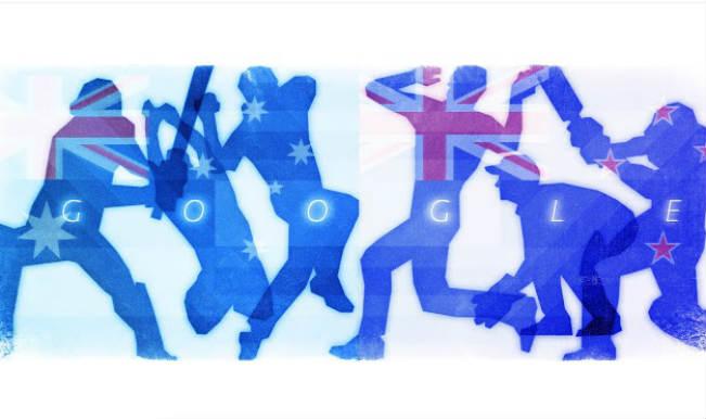 Cricket World Cup 2015 Finals: Australia vs New Zealand Google doodle promises thrilling action!