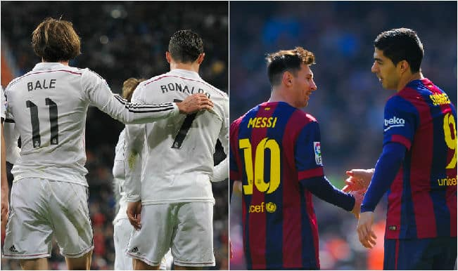 barcelona vs real madrid el clasico live updates and score la liga 2014 15 barca hold nerve to beat real 2 1 move 4 points clear