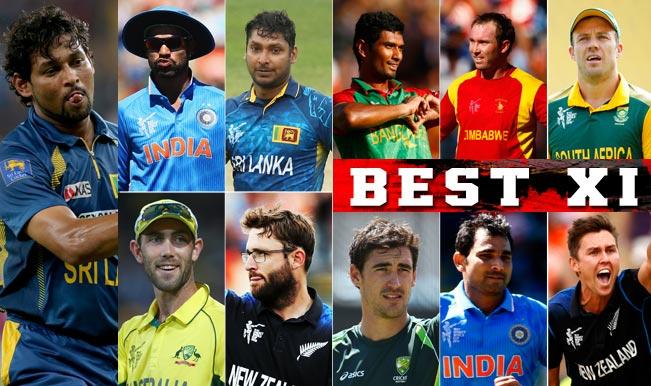ICC Cricket World Cup 2015: AB de Villiers, Kumar Sangakkara among Best XI of group stage