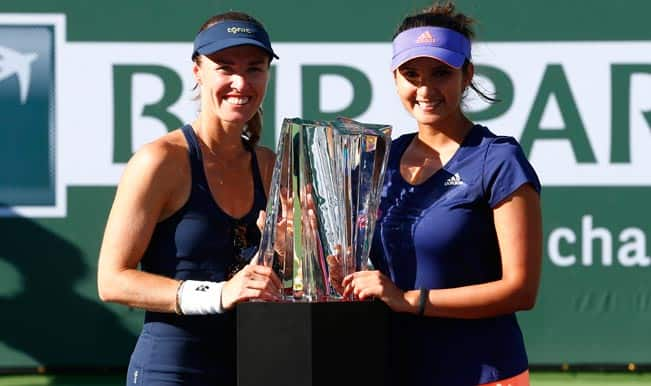 Sania Mirza-Martina Hingis lift Indian Wells Masters Doubles