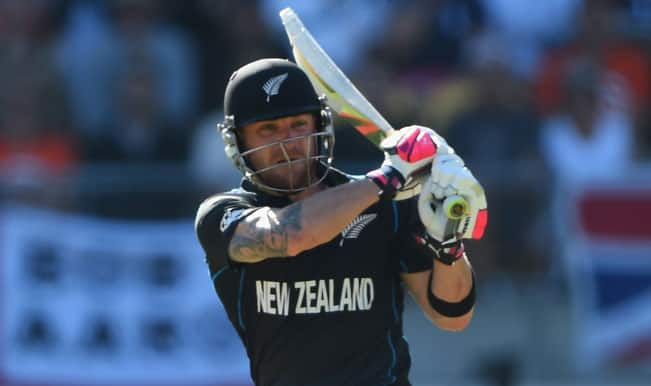 New Zealand vs West Indies, ICC Cricket World Cup 2015, 3rd Quarterfinal Toss Report & Playing XI: NZ win toss, elect to bat against WI