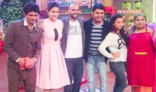Comedy nights with kapil anushka sharma and neil bhoopalam promote nh
