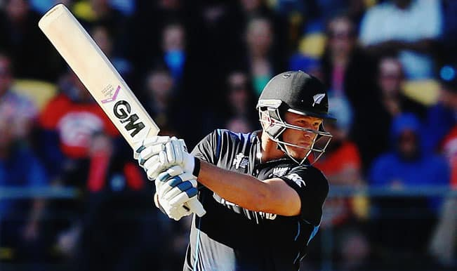Corey Anderson OUT! Australia vs New Zealand ICC Cricket World Cup 2015 — Watch Video Highlights fall of wicket