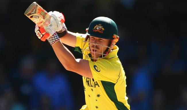 Aaron Finch, David Warner OUT! Australia vs New Zealand ICC Cricket World Cup 2015 — Watch Video Highlights fall of wickets