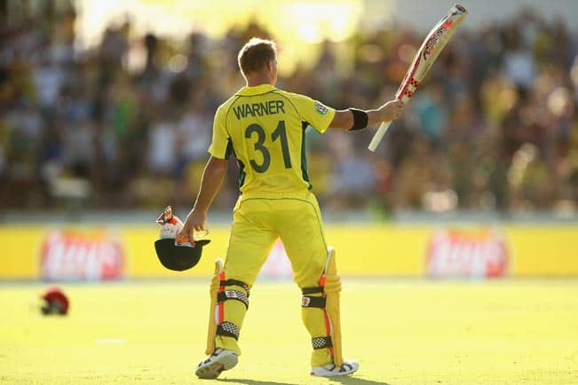 David Warner leads Australia to massive win vs Afghanistan; AUS move to No 3 in Group B Points Table of ICC Cricket World Cup 2015