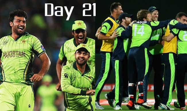 2015 Cricket World Cup Day 21: Highlights, Points Table and Schedule for upcoming matches of WC 2015