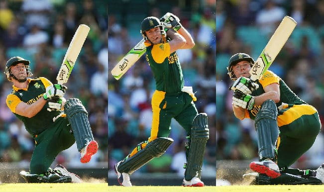 2015 Cricket World Cup batsmen with most sixes: AB de Villiers leads, Brendan Taylor 3rd in the list of maximum sixes in WC 2015