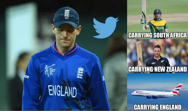 Team England eliminated from ICC World Cup 2015 after Bangladesh loss: Twitter mocks Eoin Morgan's side