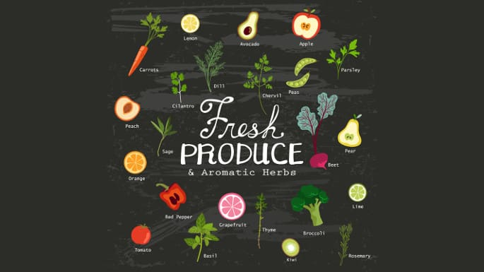 how to keep produce fresh