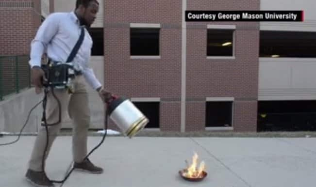 US students invent way to douse fire with bass sound wave! (Watch video)