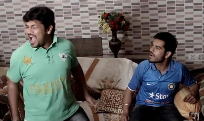 Latest Mauka Mauka video: Shocking celebration by Pakistani fan on defeat against Australia in World Cup 2015 quarter-finals?