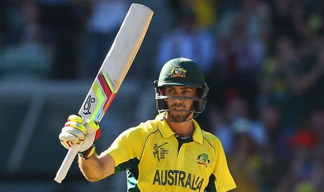 Glenn Maxwell OUT! India vs Australia, ICC Cricket World Cup 2015 Semifinal — Catch Video Highlights of wicket here