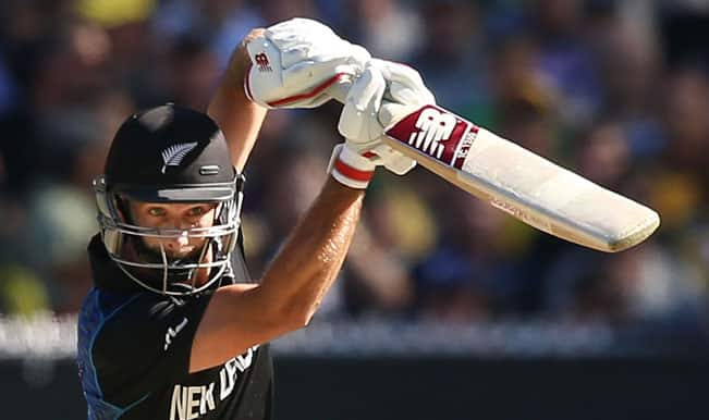 New Zealand bowled out for 183 against Australia! ICC Cricket World Cup 2015 — Watch Video Highlights fall of wickets here