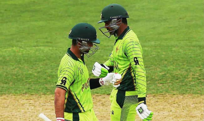 Pakistan vs United Arab Emirates, ICC World Cup 2015: Ahmed Shehzad-Haris Sohail partnership & other highlights of PAK innings