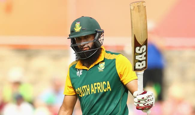 Hashim Amla, Faf du Plessis's big hundreds help South Africa to yet another big win in ICC World Cup 2015; Ireland lose by 201 runs
