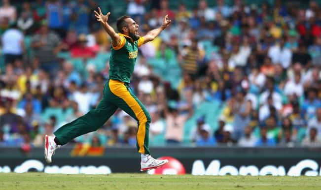 ICC Cricket World Cup 2015: Imran Tahir wants to repay South Africa for gracing his life with everything