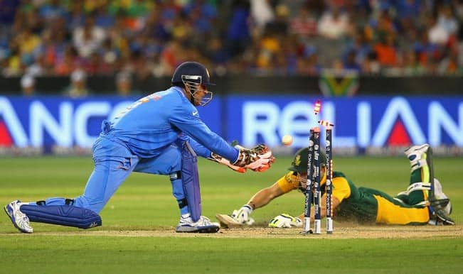 India vs south africa in 2015 Cricket World Cup