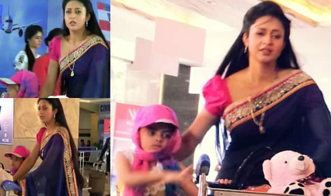 Yeh Hai Mohabbatein: Ishita is on the run with Ruhi; tries to save her from going to Shagun