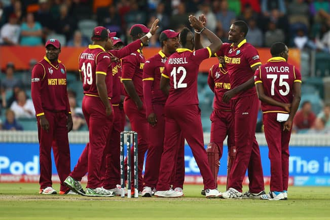 West Indies cruise to 6 wicket win against UAE in ICC World Cup 2015