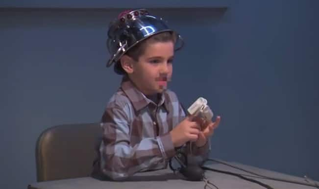 Lie Detector Test for kids: Jimmy Kimmel pranks kid before April Fool's Day