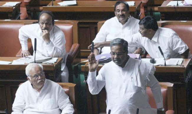 MLA evicted from Karnataka Assembly for making lewd gestures