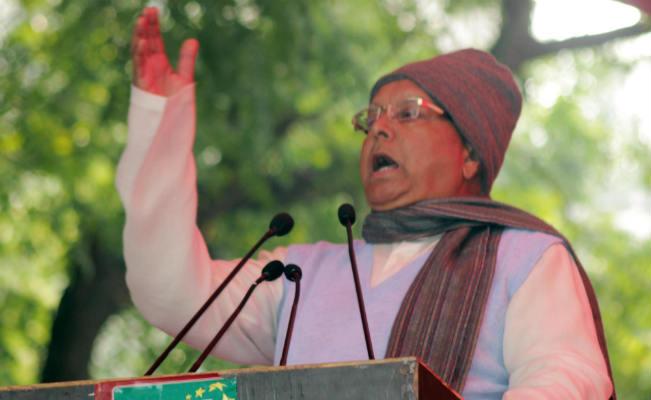 "Lalu Prasad Yadav accuses BJP of ""posing danger"" to former Prime Minister Manmohan Singh's life"