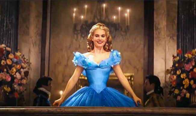 Lily James went on liquid diet for Cinderella