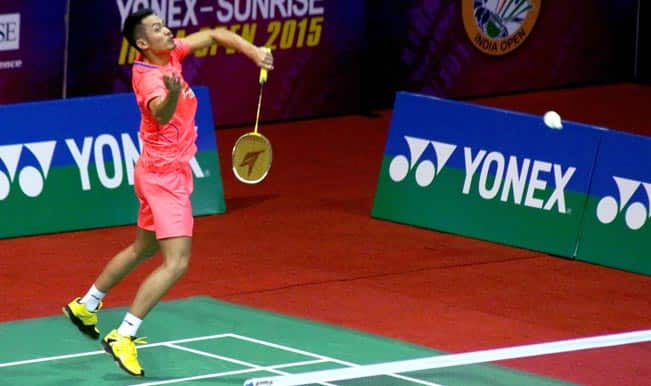 India Open Super Series 2015: Lin Dan suffers shock defeat, Saina Nehwal, Kidambi Srikanth enter semi-finals