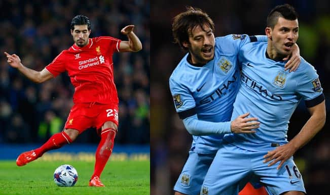 Liverpool vs Manchester City Live Score Updates, Barclays ...