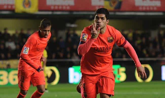 Copa del Rey 2014-15: Neymar and Luis Suarez propel Barcelona to King's Cup Final against Athletic Bilbao