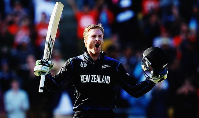 Martin Guptill's 237* leads New Zealand to 143-run win over West Indies; Kiwis set to meet South Africa in ICC Cricket World Cup 2015 semi finals
